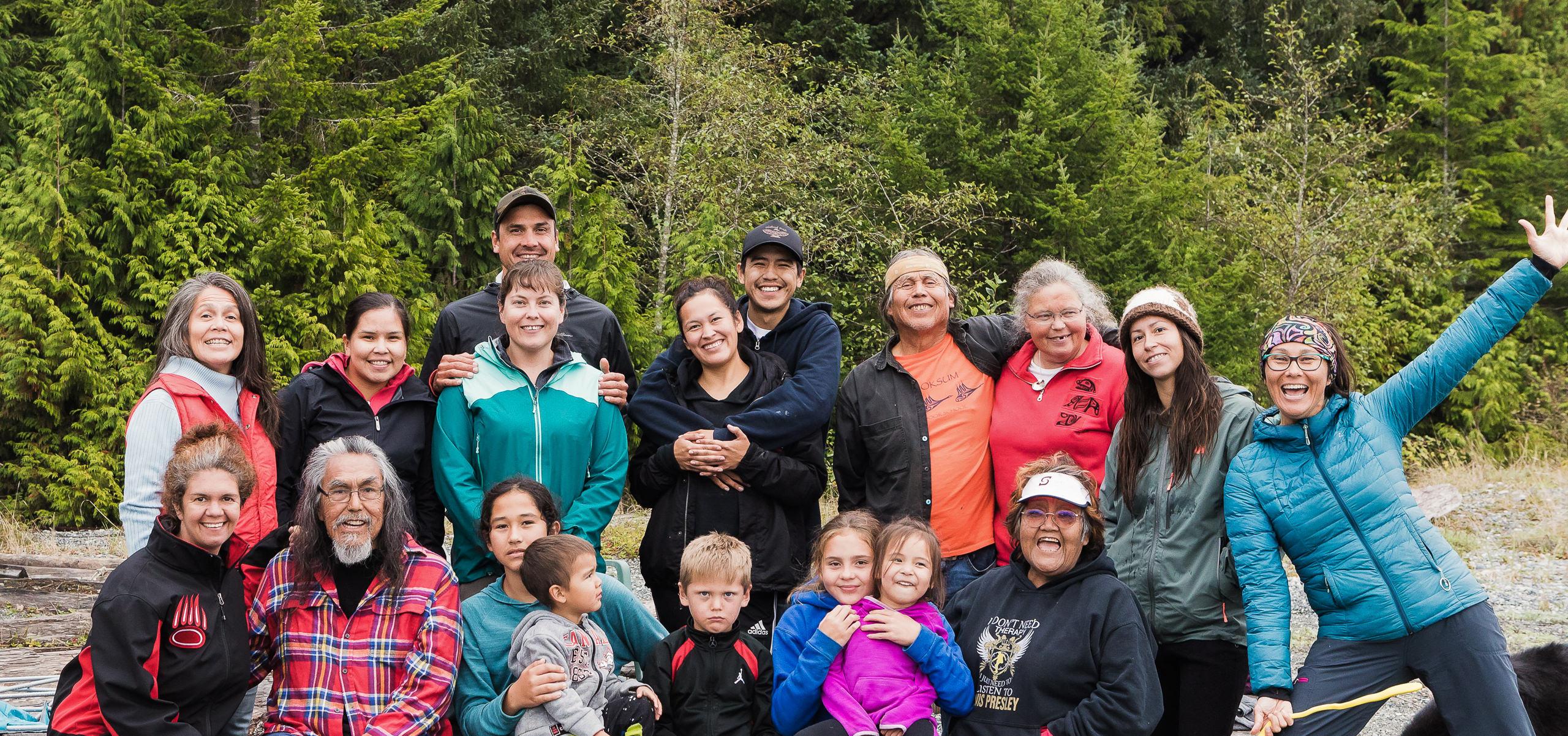 Indigenous Language Revitalization Program Vancouver Island B.C.