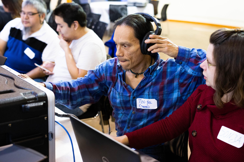 Language Technology Program digitization training session