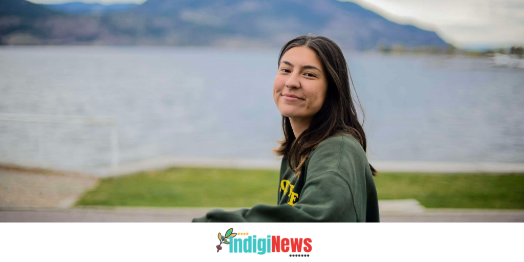 Image Terbasket-Funmaker in the IndigiNews article on First People's Cultural Council language programs